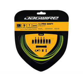 Jagwire 1X Pro Shift Set de câble de dérailleur, yellow
